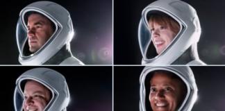 СпейсЕкс цивилни астронафти