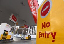 Великобритания, недостиг на гориво