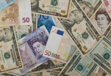 пари, долари, паунди